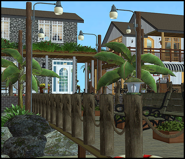 Let Your Sims Take A Strole Down Rainbow Villages Historic Pier With The Caress Of Sea Breeze On Their Back And Smell Salt In Air