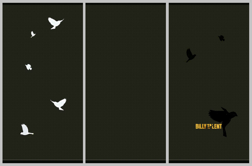 Mod The Sims White Sparrows Billy Talent Iii Wallpapers
