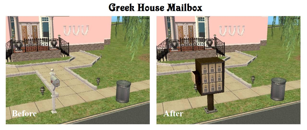 Sim A Little Dream Lot Able Mailbox Is Not Compatible With The Multi Patches Unless You Remove From Your S