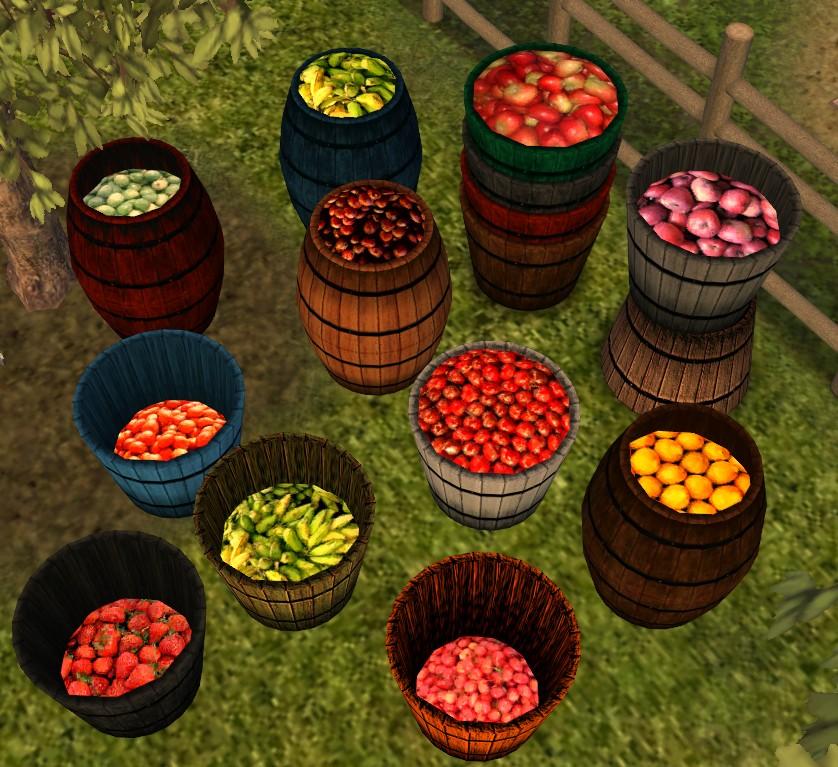 Mod The Sims Ye Olde Cooper S Barrels Amp Sacks