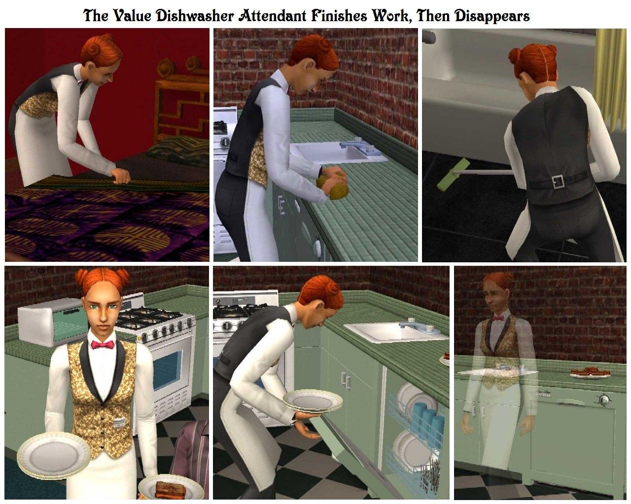 Mod The Sims Economy Maintenance Free Dishwasher with Stealth – Dishwasher Job Description