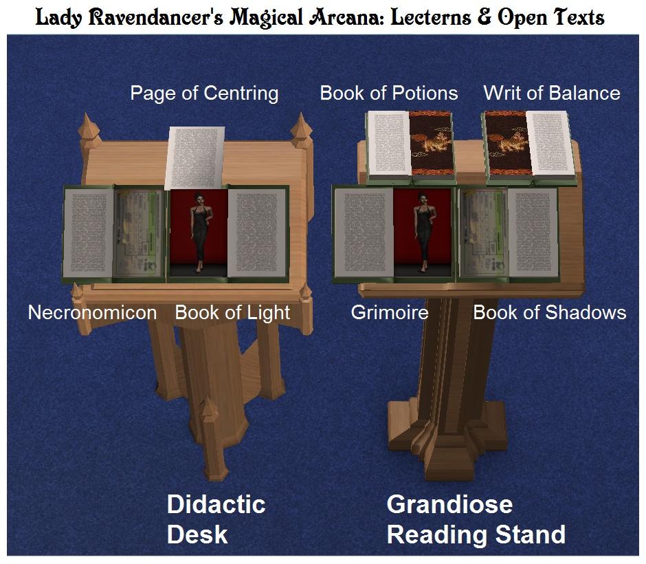 Mod The Sims - Lady Ravendancer's Magical Arcana