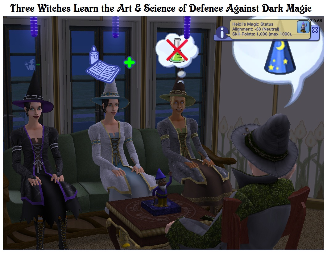 Mod The Sims Magical Guardian Gnome Of Protection