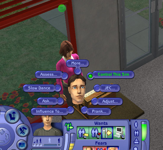 Mod The Sims - Dolphin's Control-This-Sim Hack (Updated 2006-03-26)