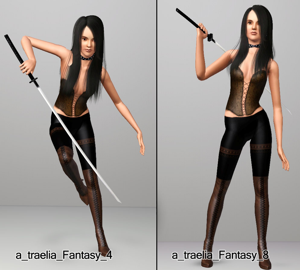 mod the sims   fantasy pose pack   for your mythically