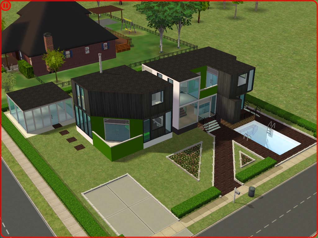 Mod The Sims - Ultra Modern House