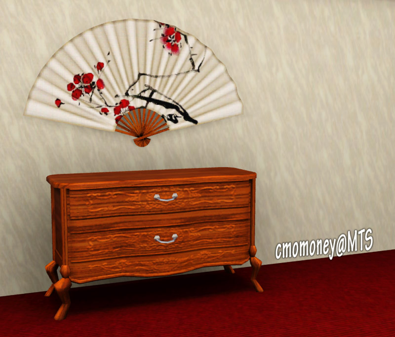Mod The Sims Decorative Wall Fan