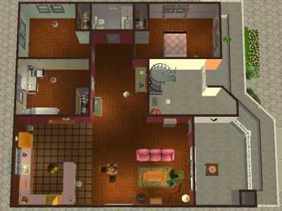 Mod The Sims - DUH! CONDOMINIUM - four door apartment complex for ...