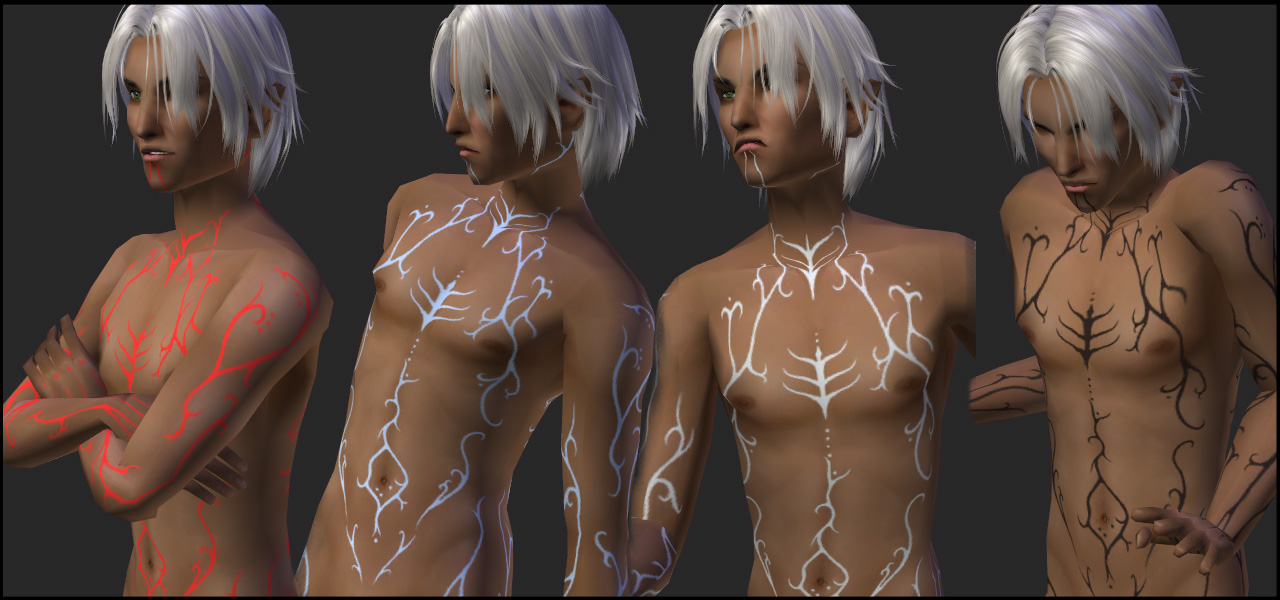 Mod The Sims - Fenris markings - overlay box