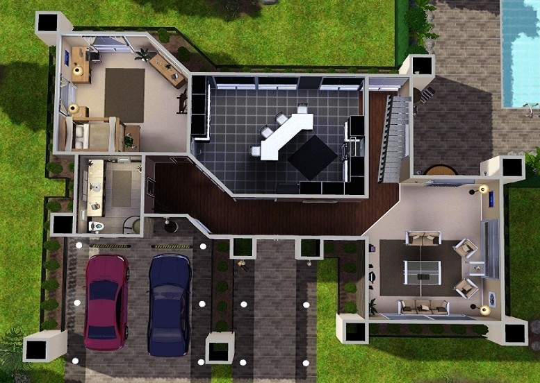 Mod The Sims Modern Dream House