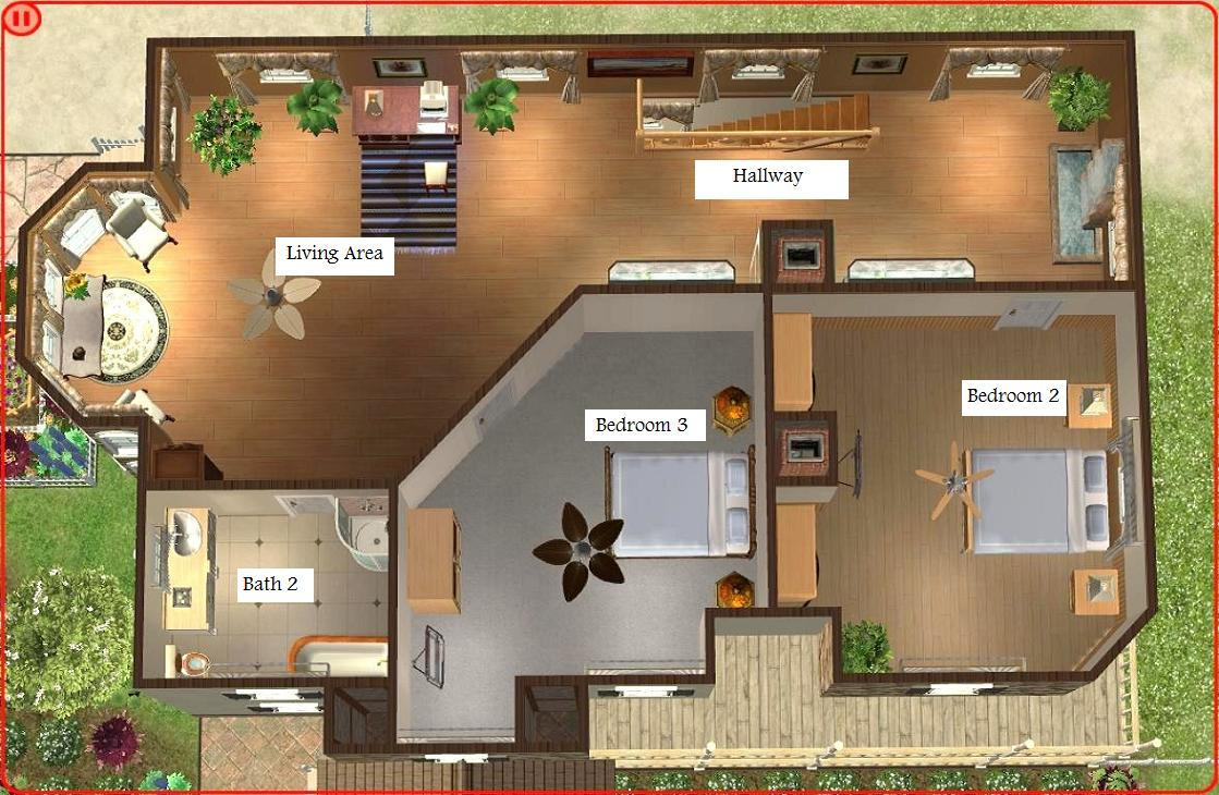 Modern sim floorplans joy studio design gallery best for House decoration simulator