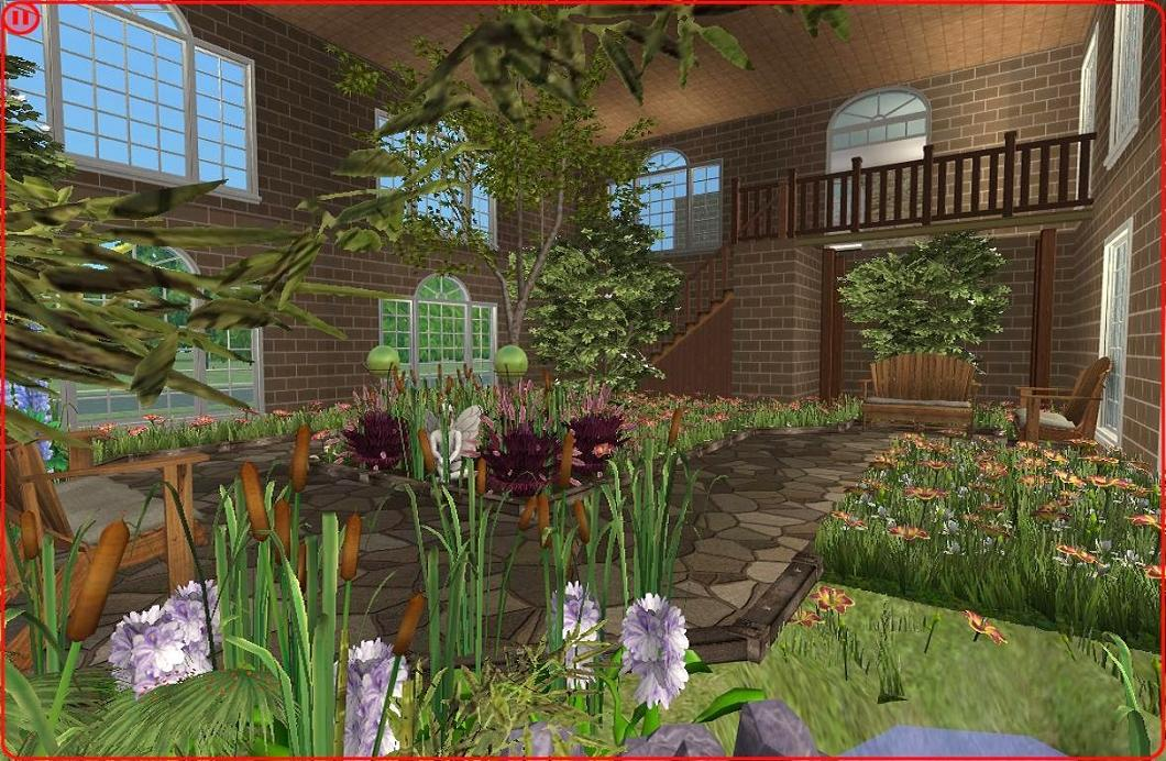 how to make an indoor garden sims 3 - garden designs