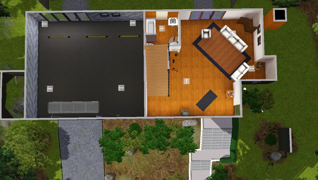 x & Mod The Sims - The Cullens\u0027 House