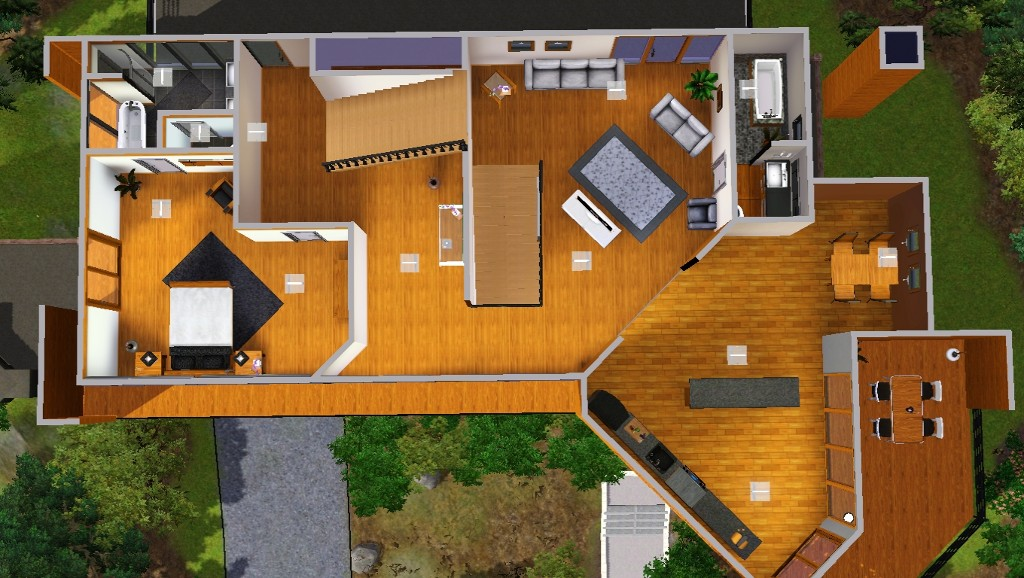 Mod The Sims The Cullens House