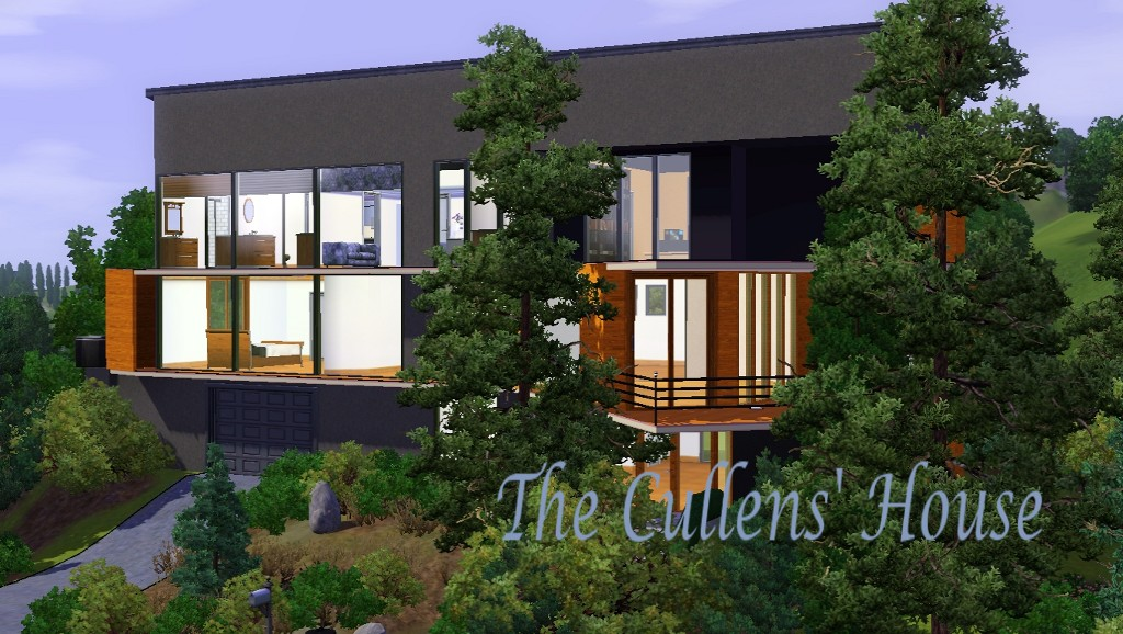 Mod The Sims The Cullens 39 House