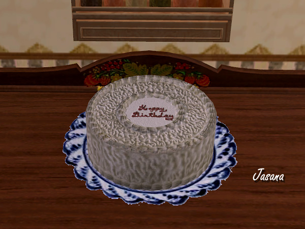 Birthday Cake Bug Sims