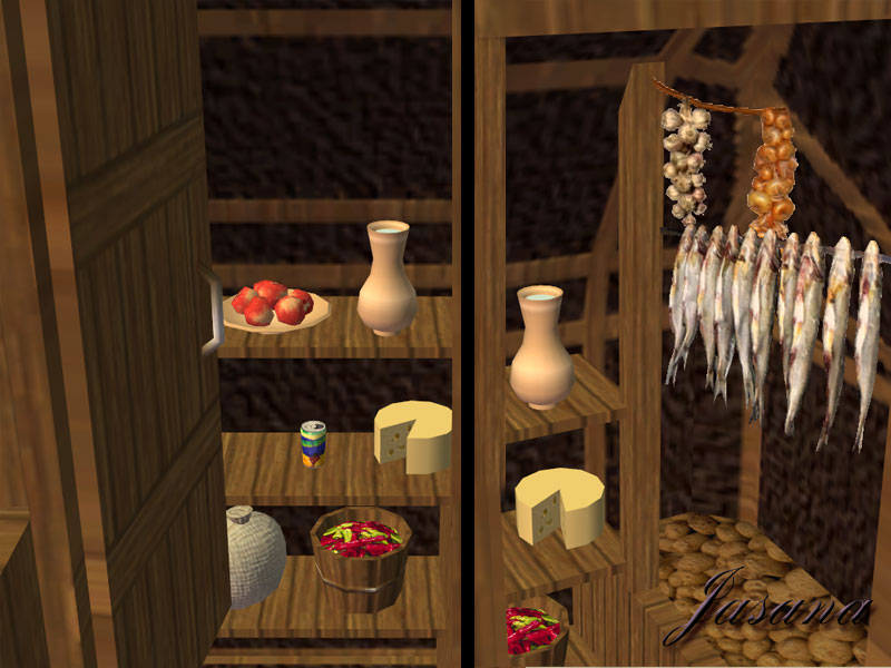 Mod The Sims Cellar Suitable Fridge For Your