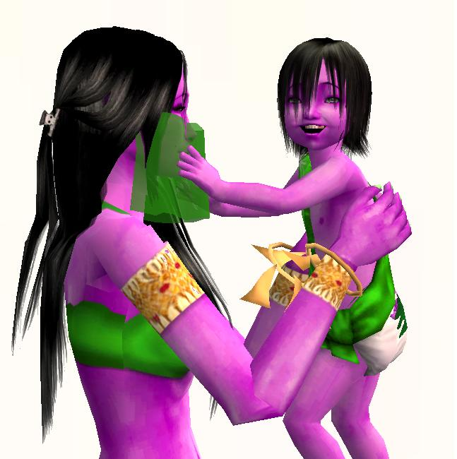 Mod The Sims - The Sims 1 Genie -- And His Beautiful New Family!