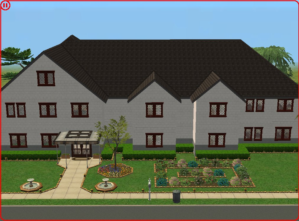 Mod the sims 7 livingston lane nursing home for How to build a retirement home