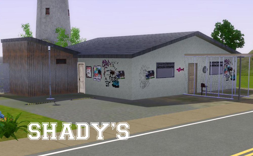 Mod The Sims Shadys Night Club Minimal Cc
