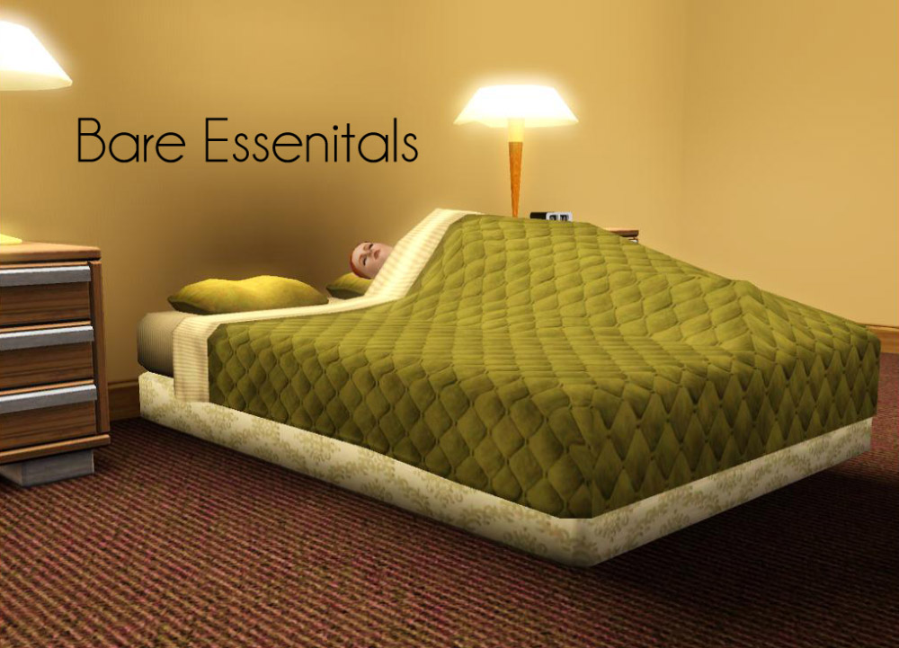 Mod The Sims Bare Essentials Beds
