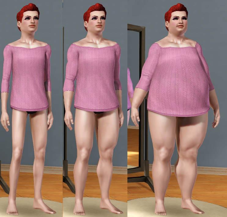 Mod The Sims Loose Tunic Top