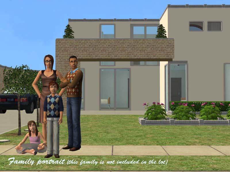 nice modern family houses. modern family houses sims 3 nice