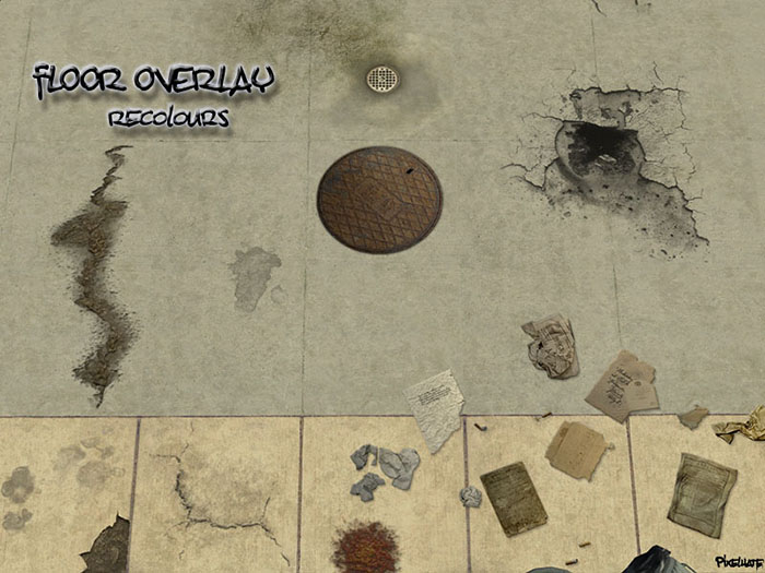 Mod The Sims Floor Overlays Recolours Add Character To