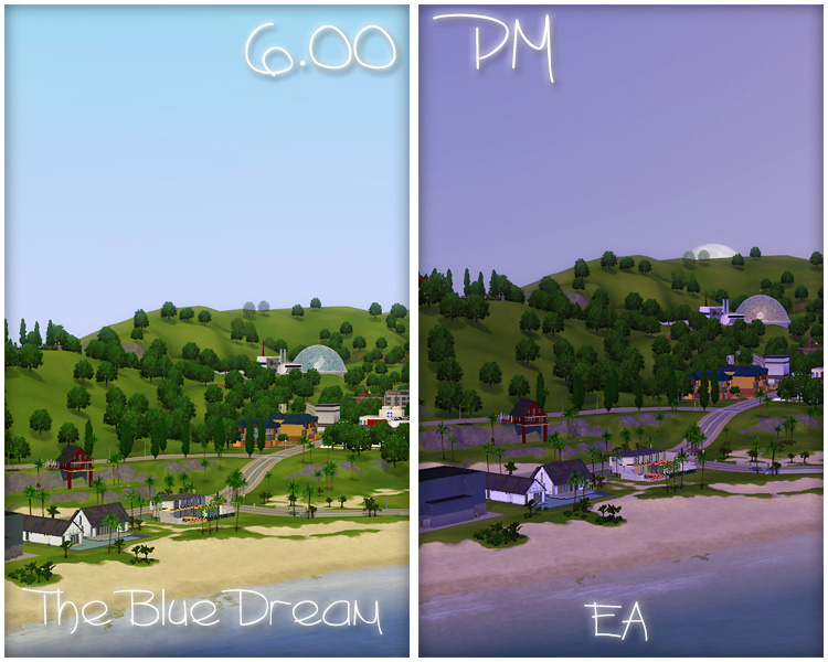 Advertisement & Mod The Sims - The Blue Dream - lighting mod (UPDATE 22.09.12 ... azcodes.com