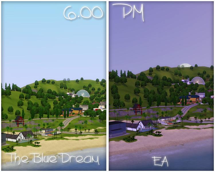 Mod The Sims The Blue Dream Lighting Mod Update 22 09