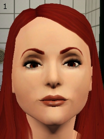 Mod The Sims - Classic Arched Eyebrows For The Ladies
