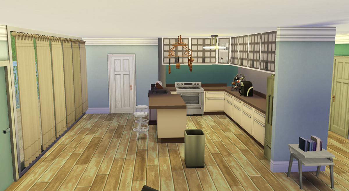 Mod The Sims DEXTERS Apartment Residential Lot