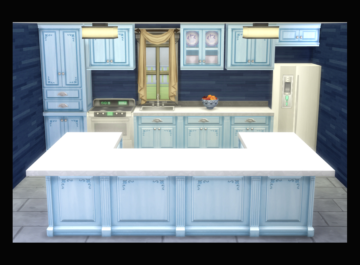 Mod The Sims - Modern Victorian Cabinet, Counter Isle, and Counter ...