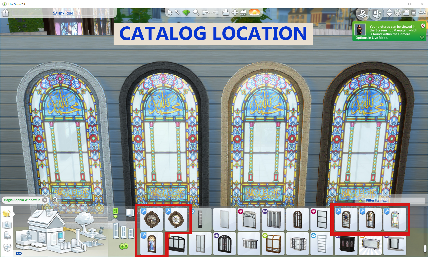 Mod The Sims - Stained Glass Windows - Religious Theme