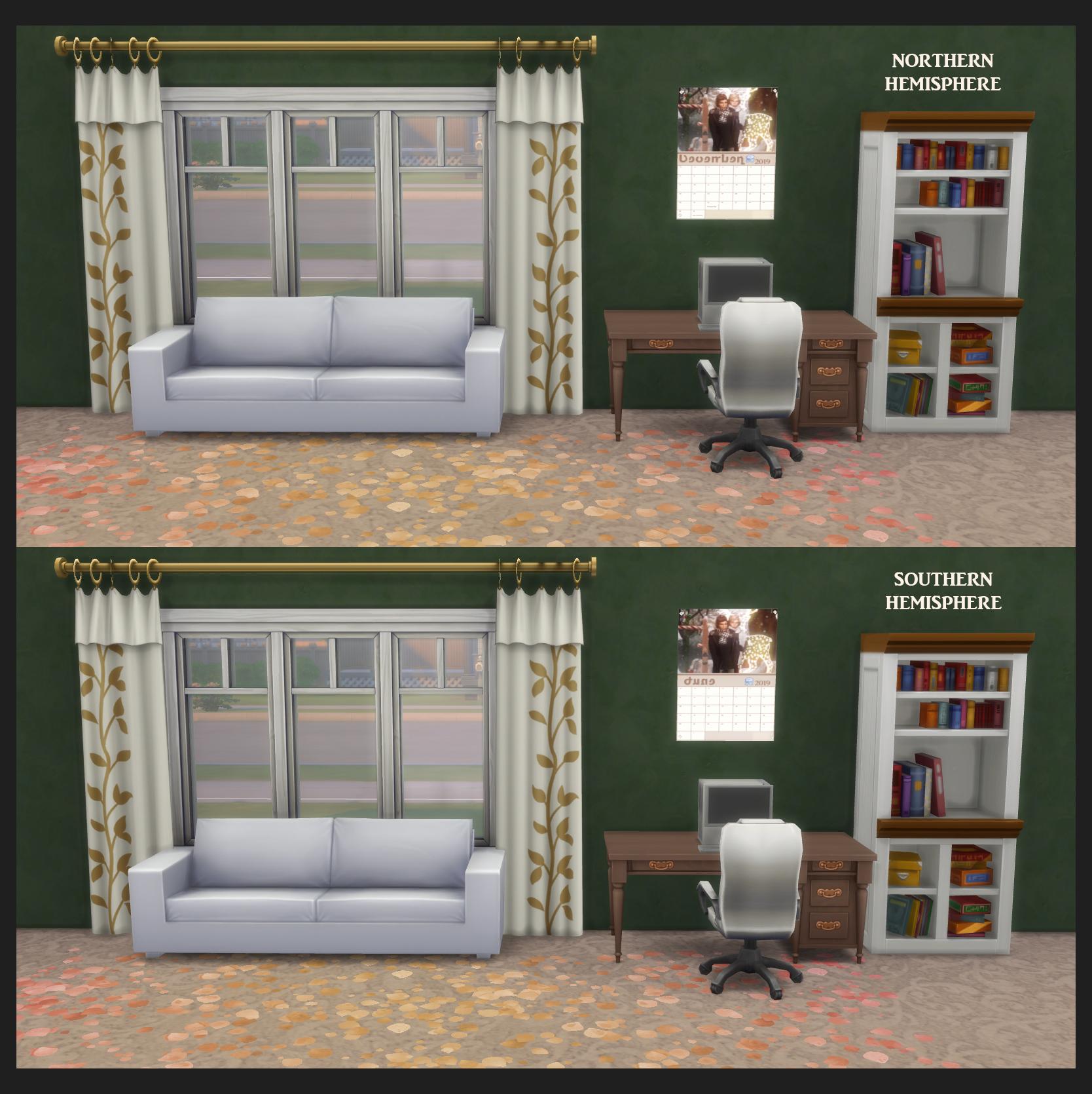 Официальные Sims 4 Календари
