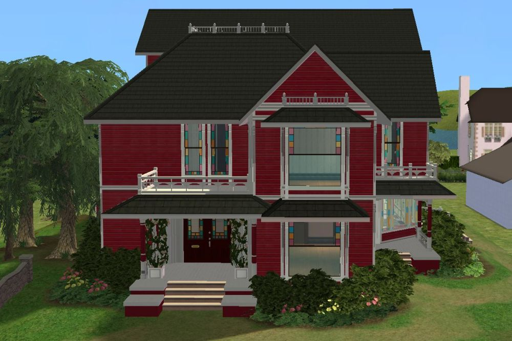 mod the sims - halliwell manor