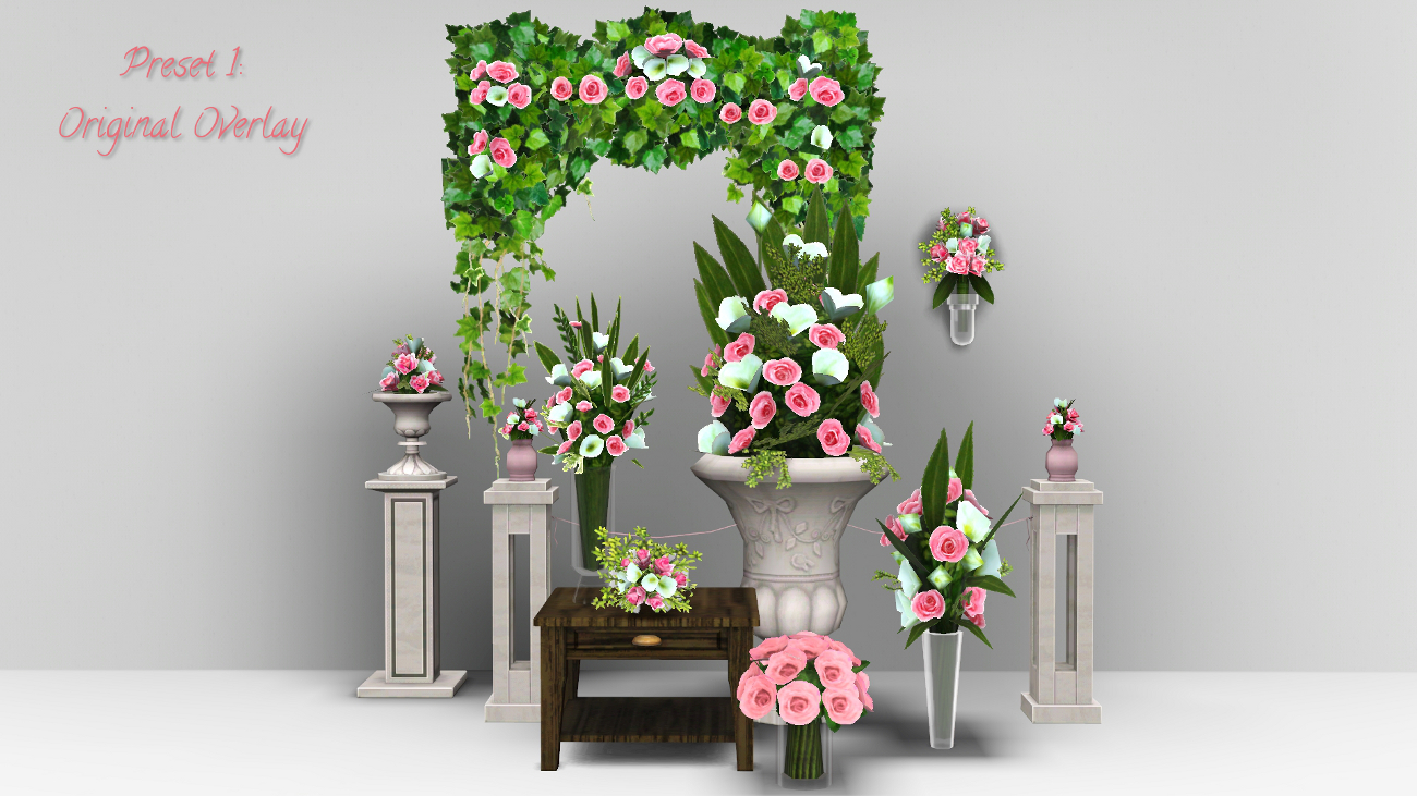 Mod The Sims Dream Wedding Flowers