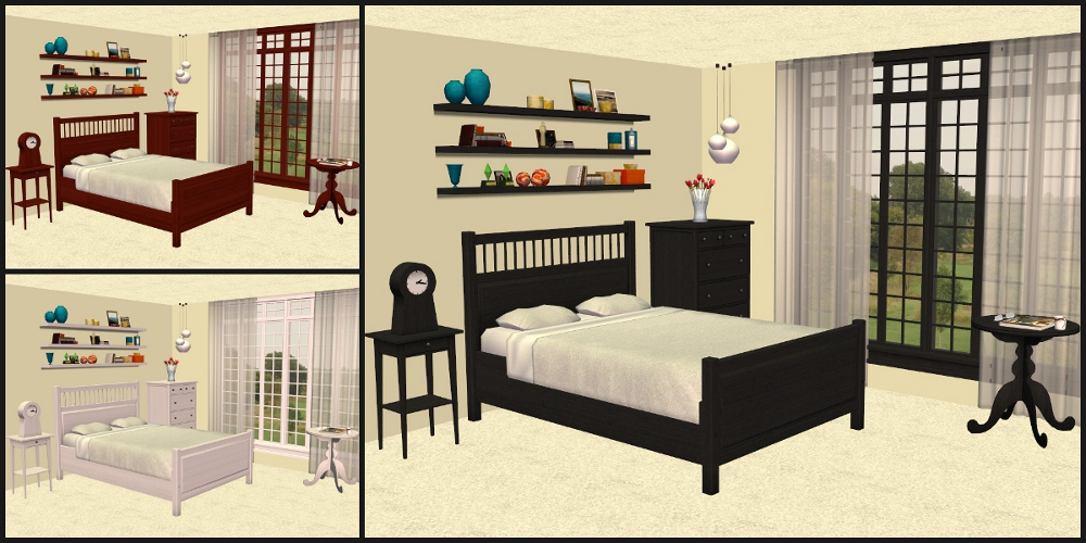 Advertisement. Mod The Sims   IKEA HEMNES Bedroom Furniture Recolours