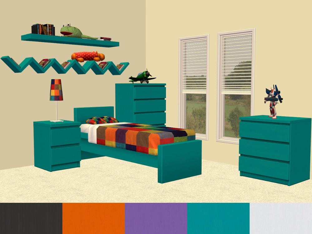 Mod The Sims Malm Furniture Extra Lack Colours