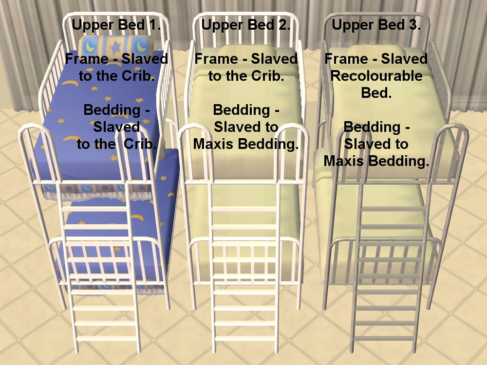 Mod the sims the kinder upper beds maxis add ons - Sims 3 babyzimmer ...