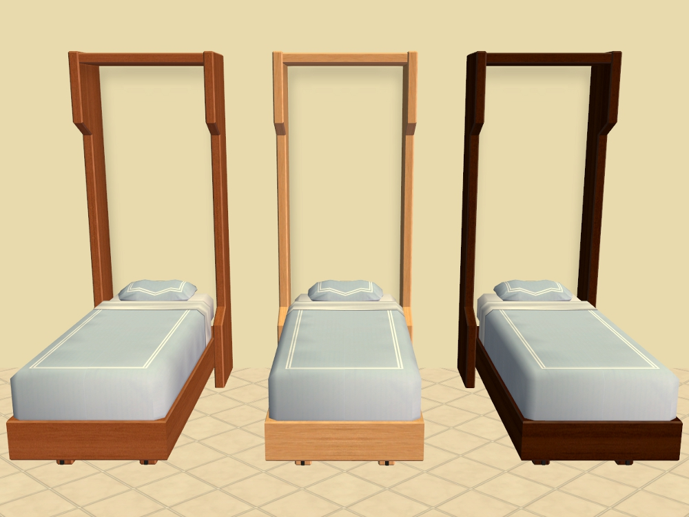 Mod The Sims Murphy Single And Toddler Beds