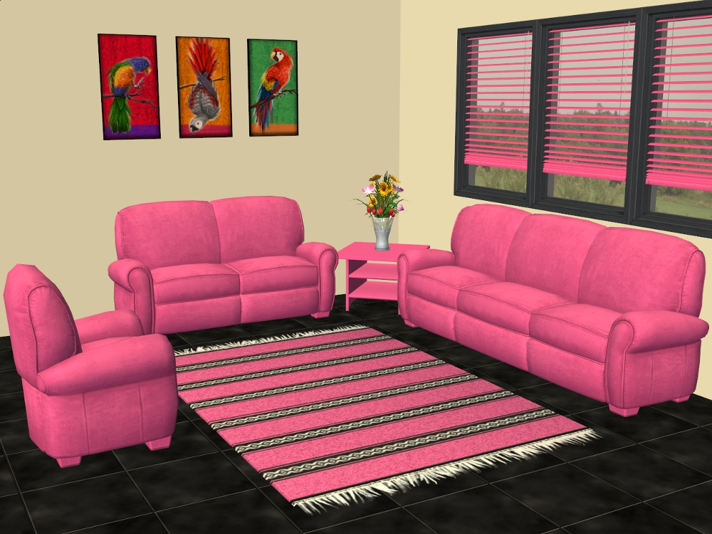 Mod The Sims - Sofa by Club Distress Recolours