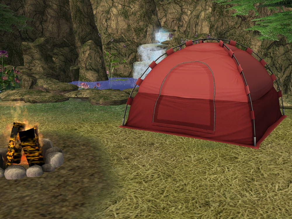 Advertisement & Mod The Sims - Traveleru0027s Action Tent Recolours