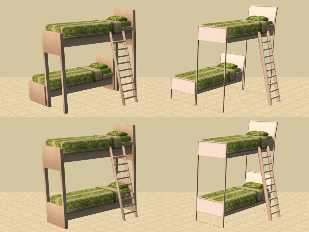 Mod The Sims Ikea Bunk Beds And More