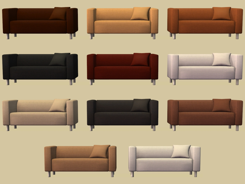 Ikea Sofa Klippan Covers For A Decorative Touch
