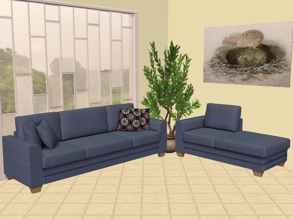 Mod the sims blake boy 39 s modular sofa recolours for Sofa bed sims 4