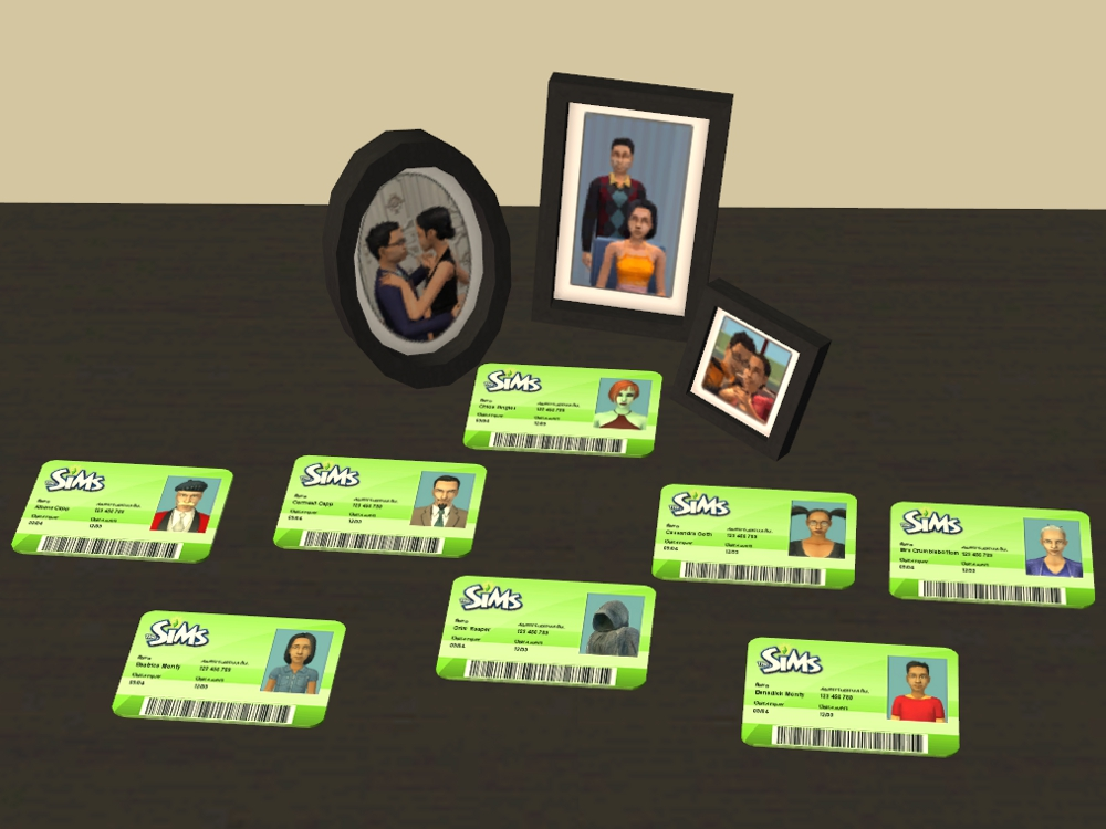 Mod The Sims Bank Of Sims Credit Card