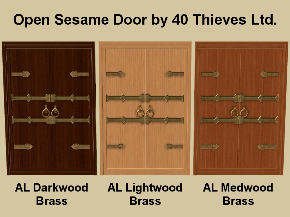 x  sc 1 st  Mod The Sims & Mod The Sims - Open Sesame Door Recolours