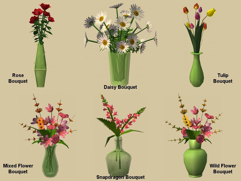Mod The Sims Fl Workstation Vase