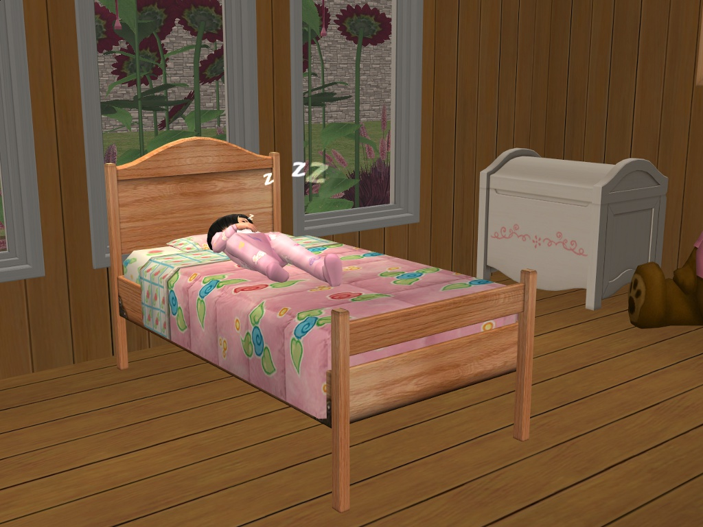 Mod The Sims Base Game Toddler Beds